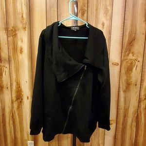 Modcloth Black Brunch on the Patio Jacket